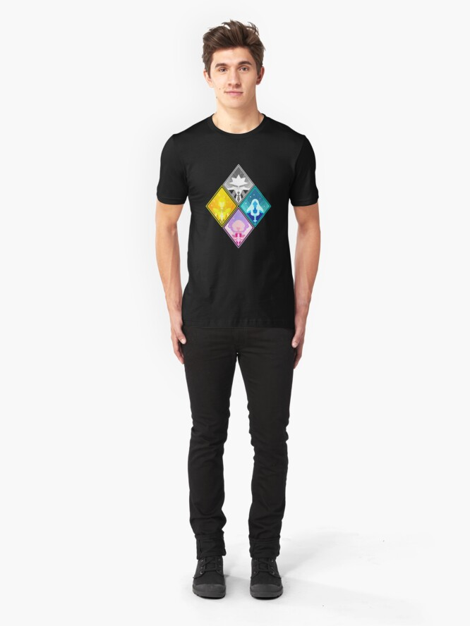 Alternate view of The Great Diamond Authority  Slim Fit T-Shirt
