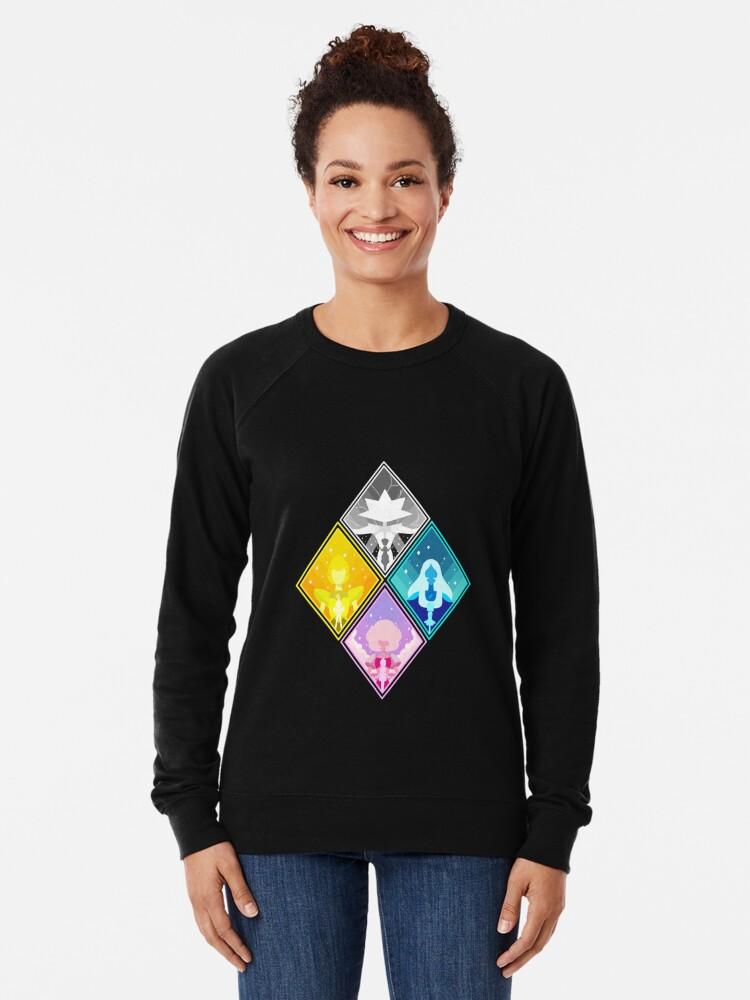 Alternate view of The Great Diamond Authority  Lightweight Sweatshirt