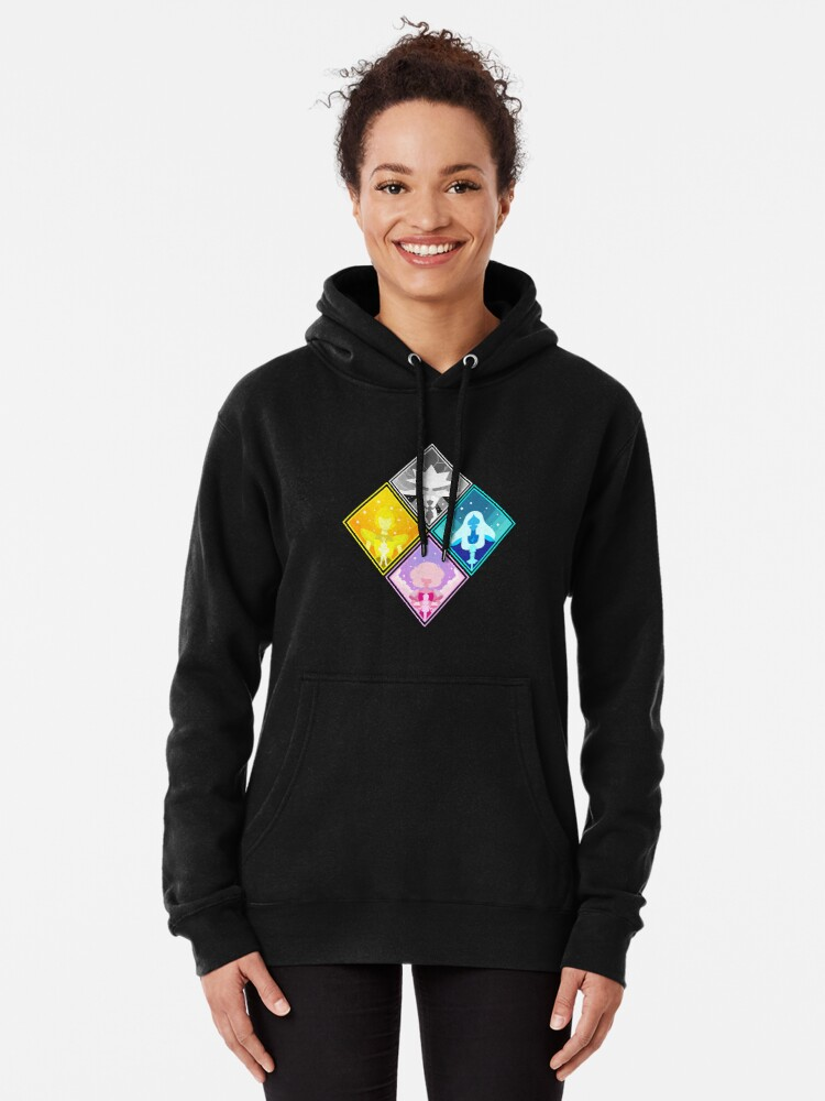 Alternate view of The Great Diamond Authority  Pullover Hoodie