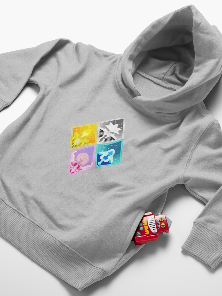 Alternate view of The Great Diamond Authority  Toddler Pullover Hoodie