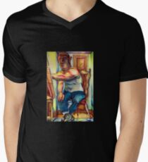 original subjective artwork V-Neck T-Shirt