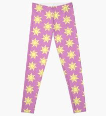 Tangled Sun Sigil Print Leggings