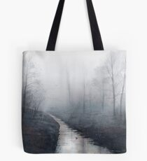 Forest Stream at Dawn Tote Bag