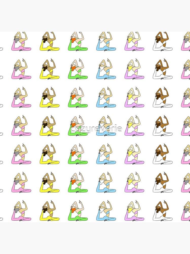 Yoga Rainbow  by cozyreverie