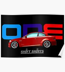 Shift Shirts ONE – E82 1M Inspired Poster
