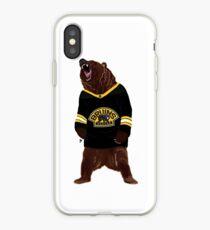 Boston Bruins Bear iPhone Case