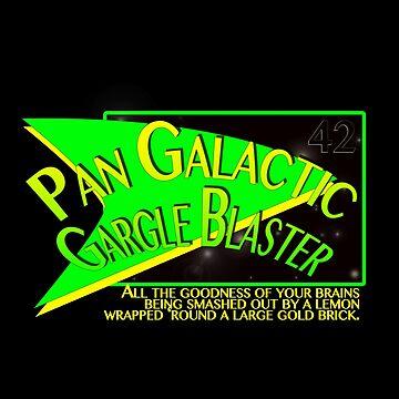 Fictional Brew - Pan Galactic Gargle Blaster by ladyjaye42
