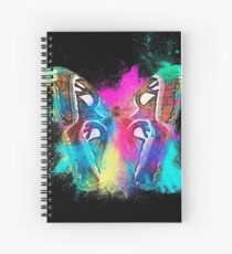 Butterfly insect colorful Spiral Notebook
