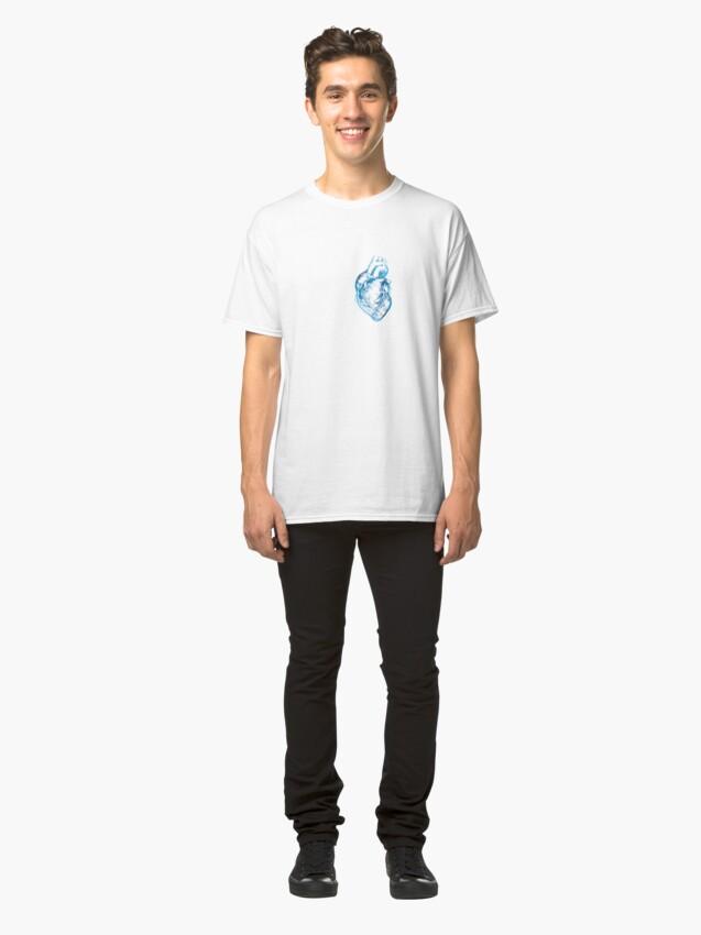 Alternate view of Blue Heart  Classic T-Shirt