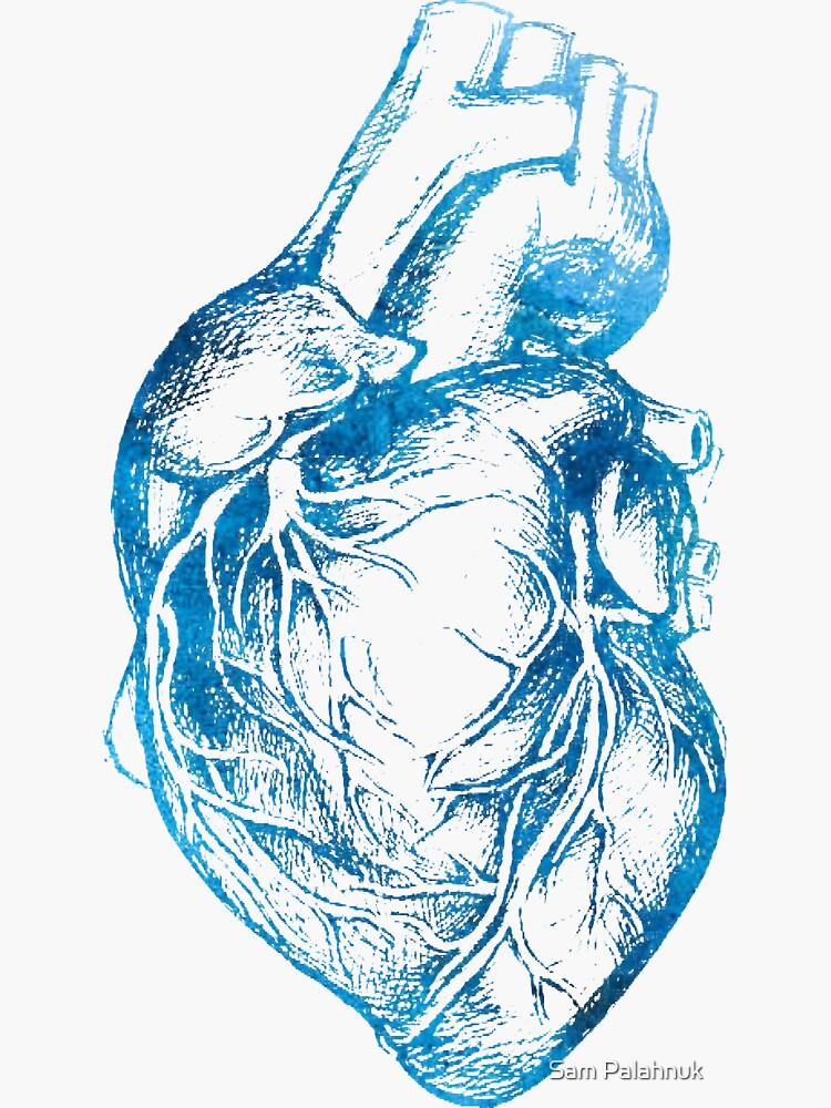 Blue Heart  by sampalahnukart