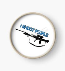 I SHOOT PEOPLE  Clock