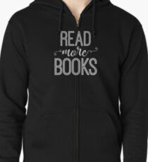 Read More Books Zipped Hoodie