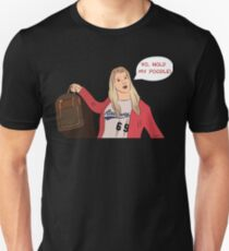White Chicks Hold My Poodle Unisex T-Shirt