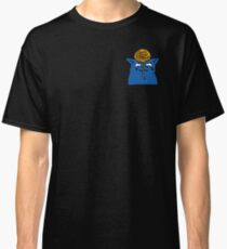 Blue Cat & Yarn Kitty Sticker Leggings Pillows Mugs Notebooks Pocket T-shirt  Classic T-Shirt