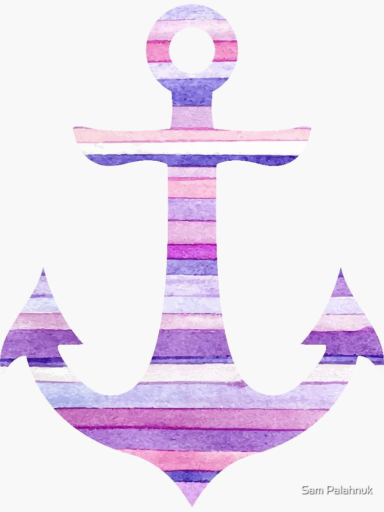 Stripey Anchor  by sampalahnukart