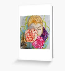 HERE AND NOW Greeting Card