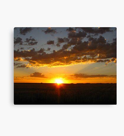 One Glorious Sunrise Canvas Print