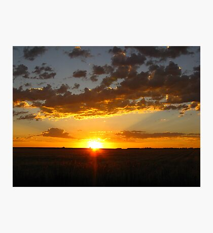One Glorious Sunrise Photographic Print