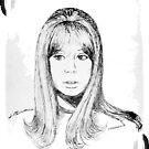 Patti Boyd by annimoonsong