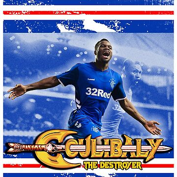 Glasgow Rangers Coulibaly the Destroyer by trueblueapparel