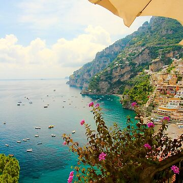 Relaxing in Positano by lenzart