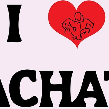 I Love Bachata Couple by 108dragons
