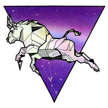 Taurus Bull zodiac sign by piedaydesigns