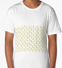 A lot of cooked spiral pasta pattern Long T-Shirt