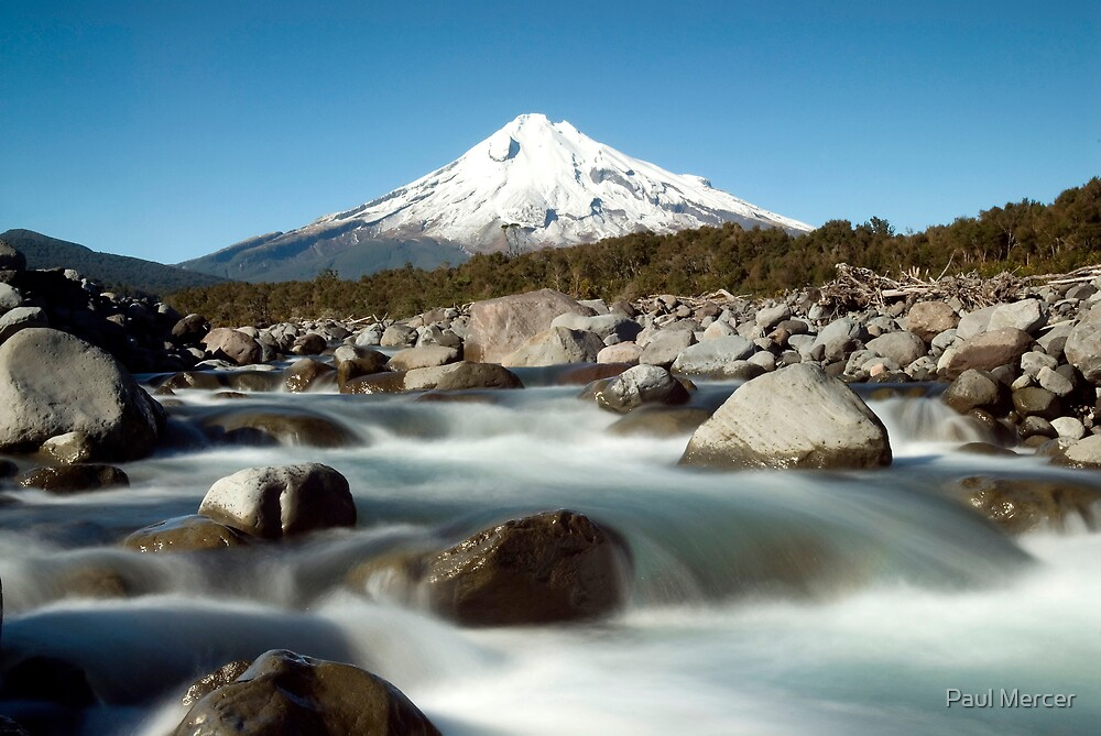 Mount Taranaki by Paul Mercer