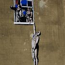 Banksy Bristol Love Cheat by Kiwikiwi