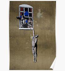 Banksy Bristol Love Cheat Poster