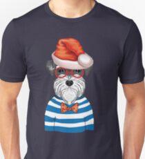 Maritime Christmas Dog Unisex T-Shirt