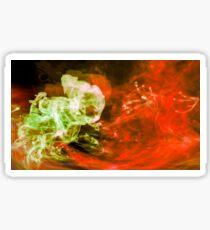 Fluid Dynamics 23 - Born of Fire Sticker
