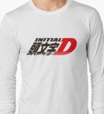 Initial D logo Long Sleeve T-Shirt