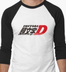 Initial D logo Men's Baseball ¾ T-Shirt