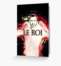 LE ROI Greeting Card