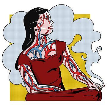 Circulatory Girl by pencilfury