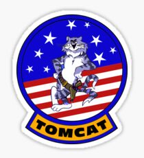 Grumman F-14 Tomcat Flight Insignia Sticker