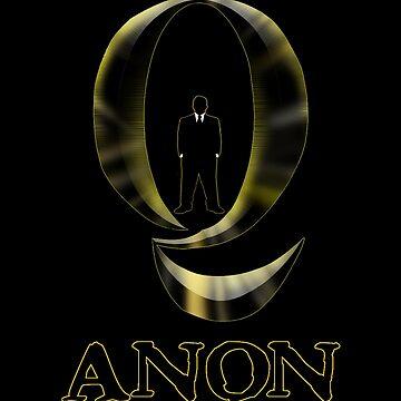 Secret Agent QAnon by TrumpQAnon