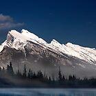 Mount Rundle by Alex Preiss