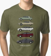 Citroen Haute de Gamme Classic Car Collection (Vr 2) Tri-blend T-Shirt