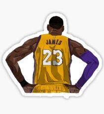 LA LeBron James Sticker