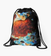 Rusty Metal Drawstring Bag
