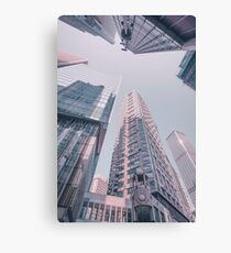 Downtown Hongkong Canvas Print