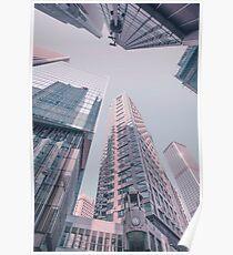 Downtown Hongkong Poster