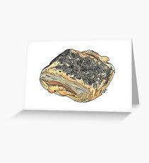Tebirkes, a Danish Pastry Greeting Card