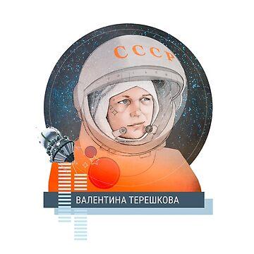 Valentina Tereshkova, cosmonauta by puratura