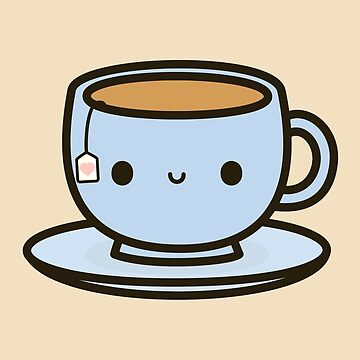 Cute cup of tea by peppermintpopuk