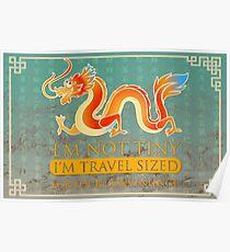 I'm not tiny Dragon Poster