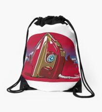 Avenging Iron Drawstring Bag